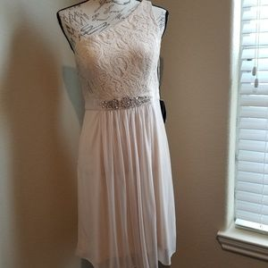 NWT Adrianna Papell One Shoulder Dress Size 8